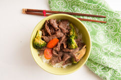 Vegetable beef stir fry Royalty Free Stock Photography