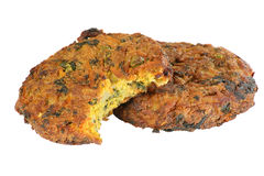 Vegetable bhajis Royalty Free Stock Photography