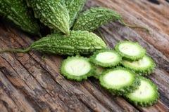 Vegetable bitter melon. Stock Image