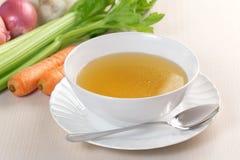 Vegetable bouillon Royalty Free Stock Photos
