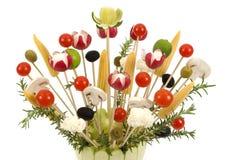 Vegetable Bouquet Stock Photo