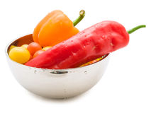 Vegetable bowl Royalty Free Stock Photos