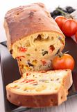 Vegetable bread Stock Images