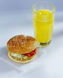 Vegetable burger Stock Photos