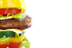 Vegetable burger Stock Photo
