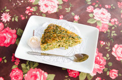 Vegetable cake Royalty Free Stock Photography