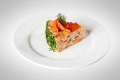 Vegetable cake Royalty Free Stock Image