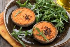 Vegetable carrot cake Stock Image