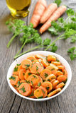 Vegetable carrot salad Stock Photography