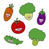 Vegetable cartoon Stock Photo