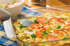 Vegetable Casserole Royalty Free Stock Photos