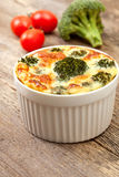 Vegetable casserole with broccoli Stock Images