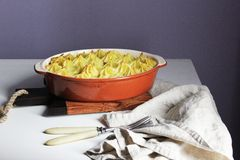 Vegetable casserole Royalty Free Stock Photo