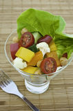 Vegetable and Chickpea Salad Royalty Free Stock Photography