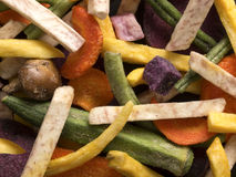 Vegetable chips Royalty Free Stock Image