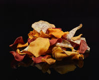 Vegetable Chips Royalty Free Stock Photography