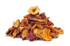 Vegetable chips Stock Images