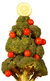 Vegetable Christmas Tree Stock Photos