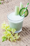Vegetable coctail Royalty Free Stock Photography