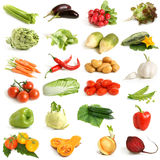 Vegetable collection Royalty Free Stock Image