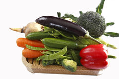 Vegetable combination Stock Photography
