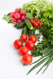 Vegetable composition Royalty Free Stock Photos