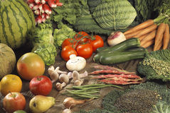 Vegetable composition Royalty Free Stock Photography