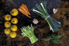 Vegetable composition Stock Images