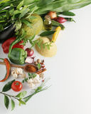 Vegetable composition Stock Image