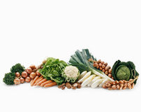 Vegetable composition Royalty Free Stock Images