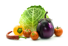 Vegetable composition Stock Photography