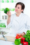 Vegetable Cook stock images