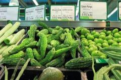 Vegetable counter Stock Photos