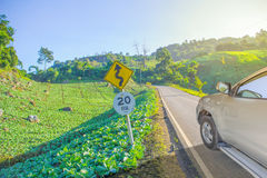 Vegetable country travel Royalty Free Stock Image