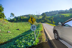 Vegetable country travel Stock Images