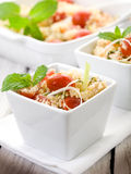 Vegetable couscous with tomatoes Stock Photography