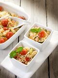 Vegetable couscous with tomatoes Royalty Free Stock Images