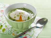 Vegetable cream soup Stock Image