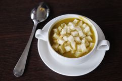 Vegetable cream soup Stock Photography