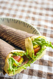 Vegetable crepe Stock Photography