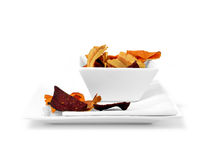 Vegetable Crisps Stock Image