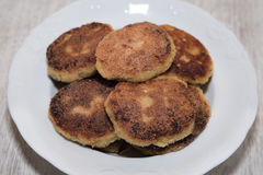 Vegetable cutlets Royalty Free Stock Photography