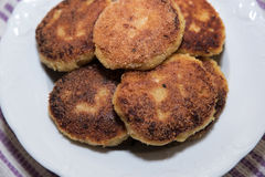 Vegetable cutlets Stock Photo