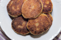 Vegetable cutlets Stock Images