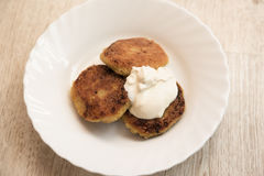 Vegetable cutlets Stock Photography