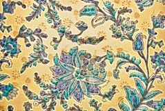 Vegetable decorative pattern in Indian style Royalty Free Stock Images