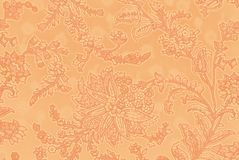 Vegetable decorative pattern in Indian style Royalty Free Stock Photo