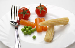 Vegetable diet Stock Photo