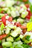 Vegetable Diet Salad Stock Photo