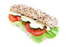 Vegetable diet sandwich Stock Images